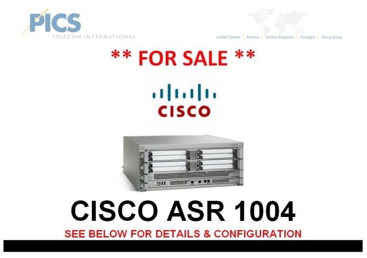 Cisco ASR 1004 For Sale Top