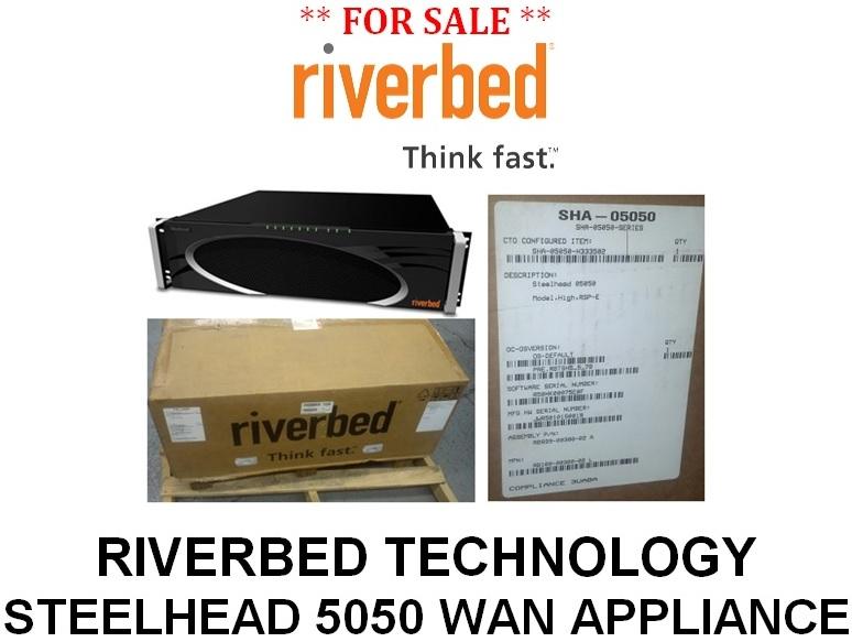 Riverbed Steelhead 5050 WAN Optimization Appliance For Sale