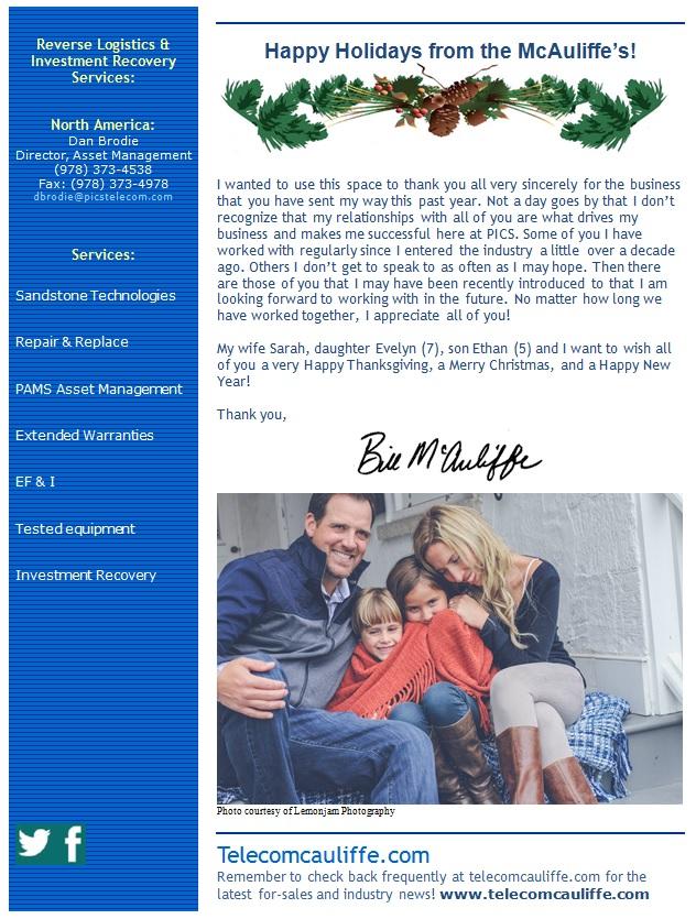 Newsletter Sample Small 2