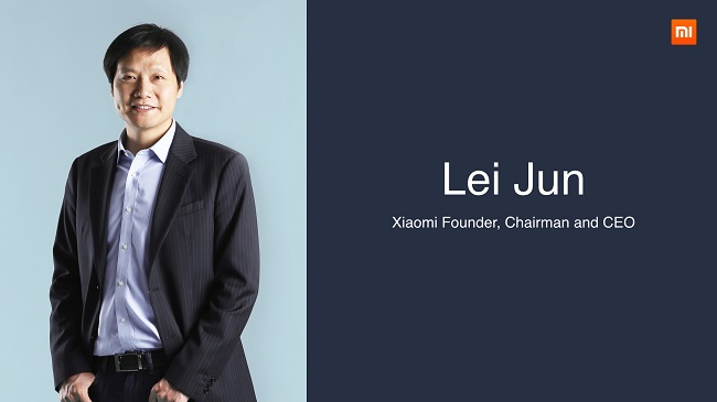 Image result for lei jun