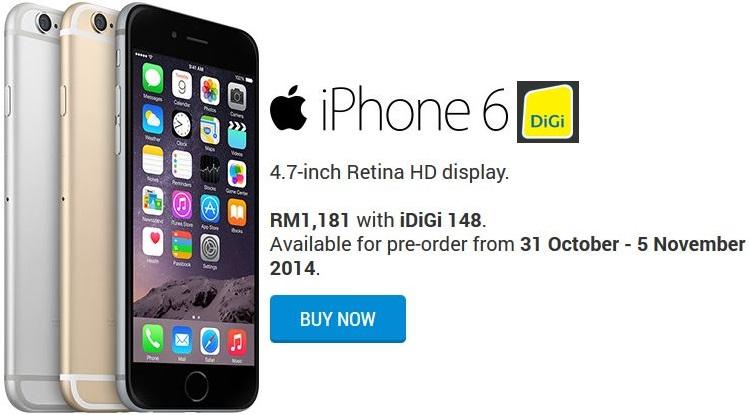 DiGi iPhone 6 & 6 Plus