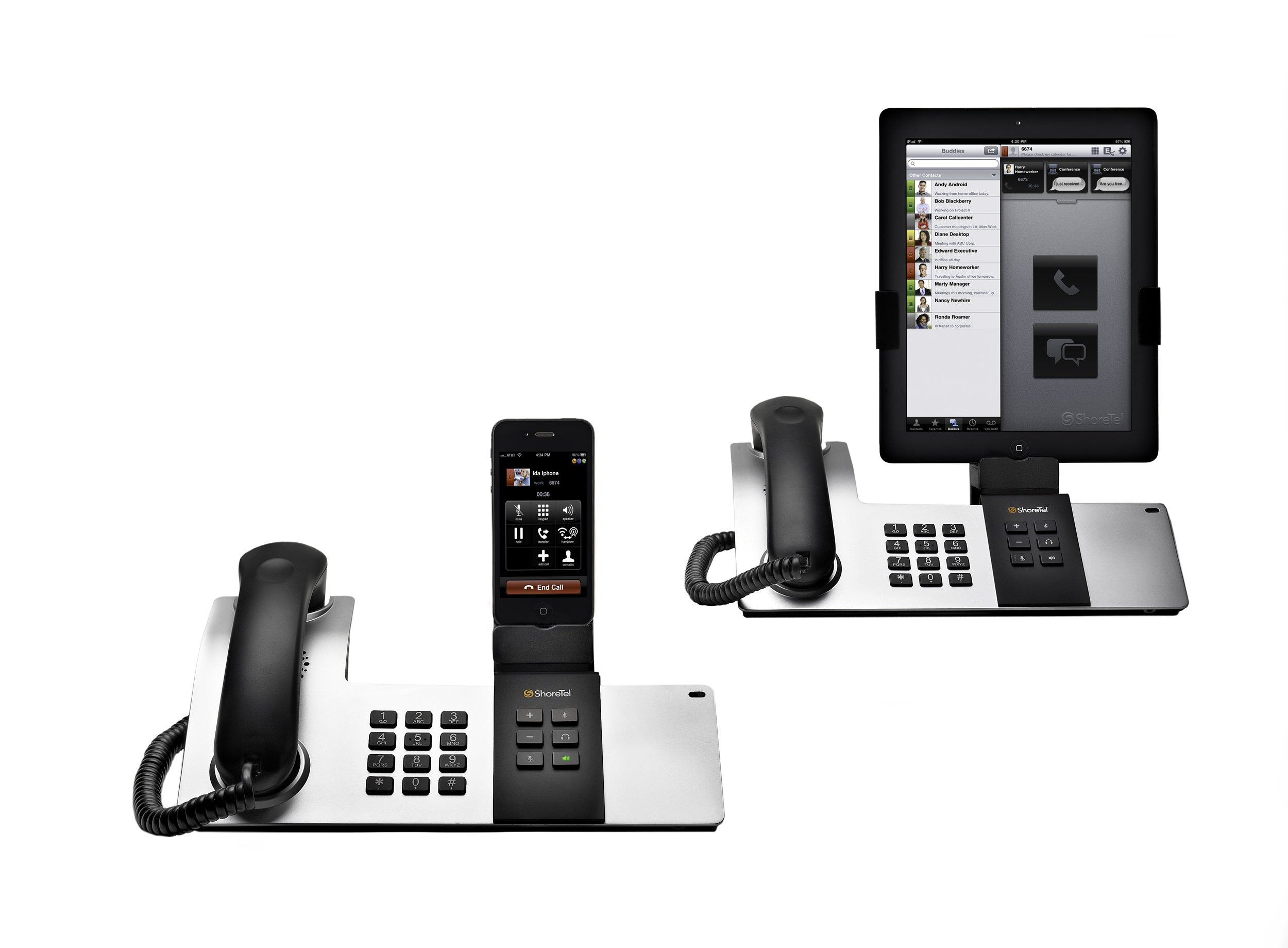 new shoretel dock transforms ipad and iphone into desk phone rh telecomreseller com iphone desktop phone iphone desk phone charger