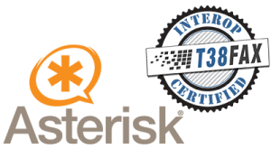 Asterisk Certified Compatible with T38Fax SIP Trunks