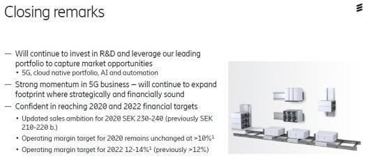 Ericsson Q3 2019 slide 4
