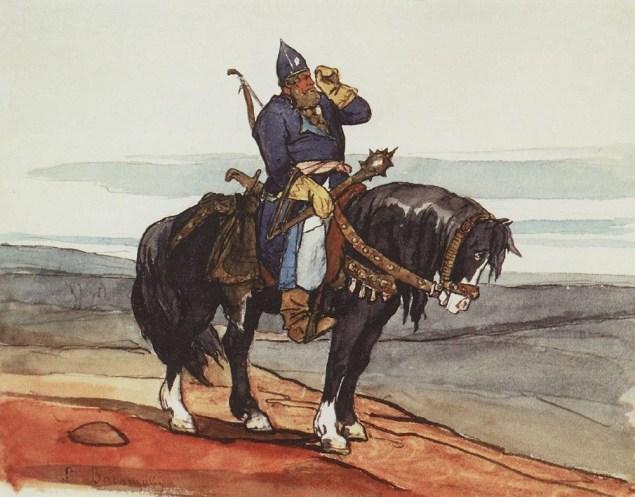 Віктор Васнецов (1878). «Богатир».