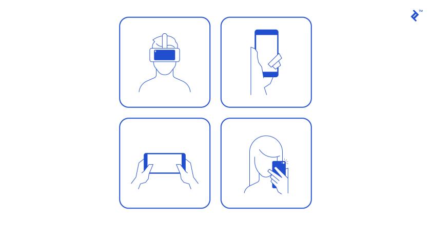 Хороший мобильный дизайн должен учитывать контекст, в котором он используется.