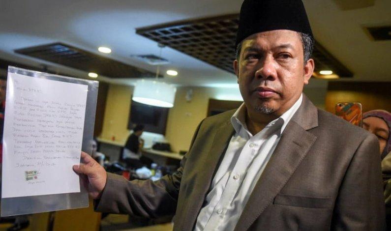 Fahri Hamzah Akan Kumpulkan Calon Kader dan Pengurus Partai Gelora
