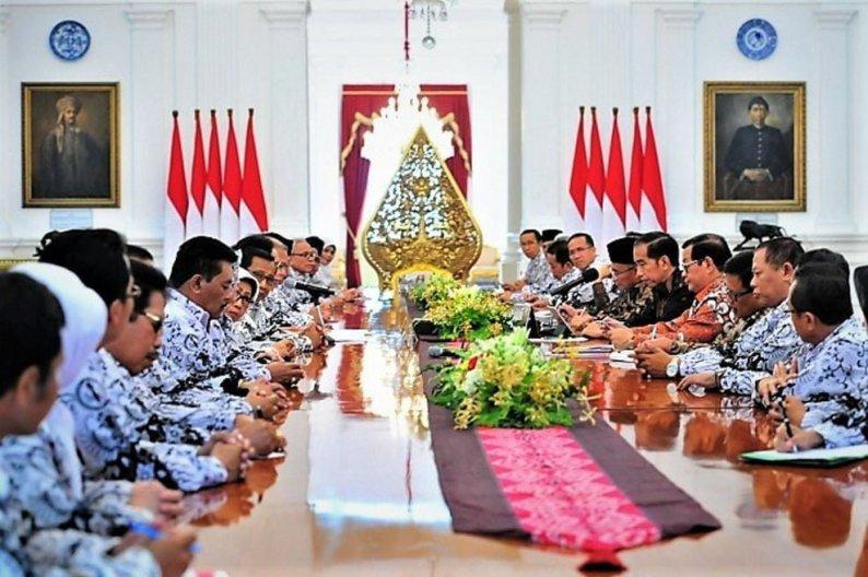 Presiden Jokowi: Kualitas Guru Kunci Pembangunan SDM