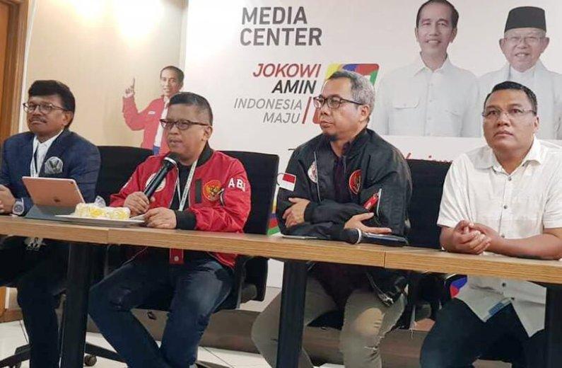 "TKN Jokowi-Amin Laporkan Indopos Terkait Skenario Hoax ""Ahok Ganti Ma'ruf"""