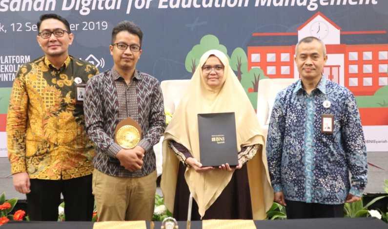 BNI Syariah Gandeng PT TKI Dukung Kemajuan Pendidikan