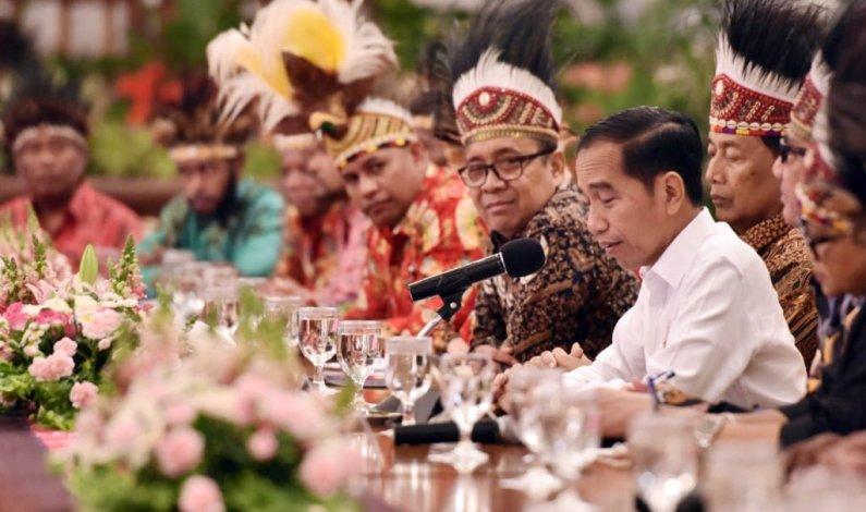 Selain Bangun Istana, Jokowi Janjikan Kesempatan Sarjana Papua Bekerja di BUMN