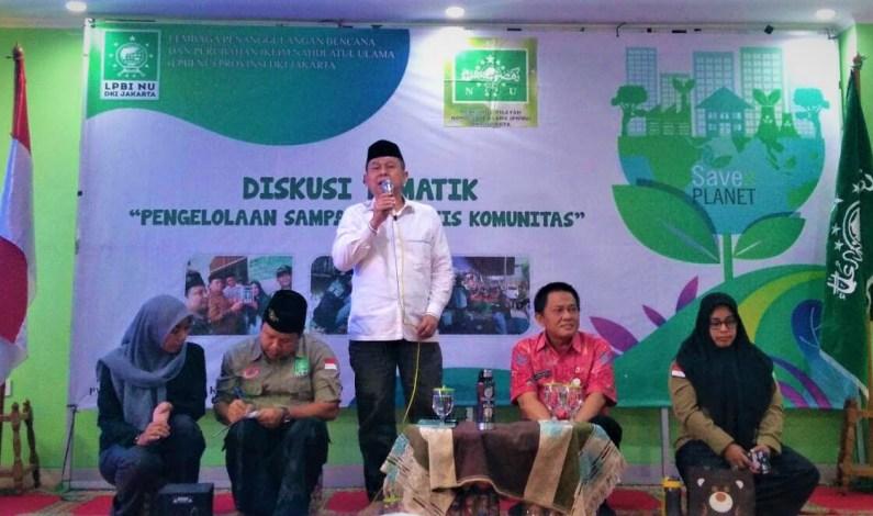LPBI NU Jakarta: Produksi Sampah DKI Jakarta 7.500 ton/hari, Haram Buang Sampah Sembarangan