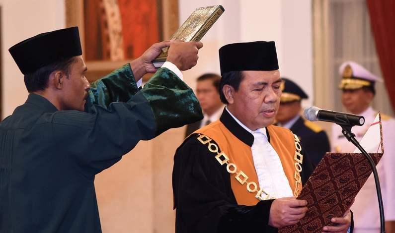 Survei Umum Percaya Kepada Sosok M. Syarifuddin Ketua MA Yang Baru