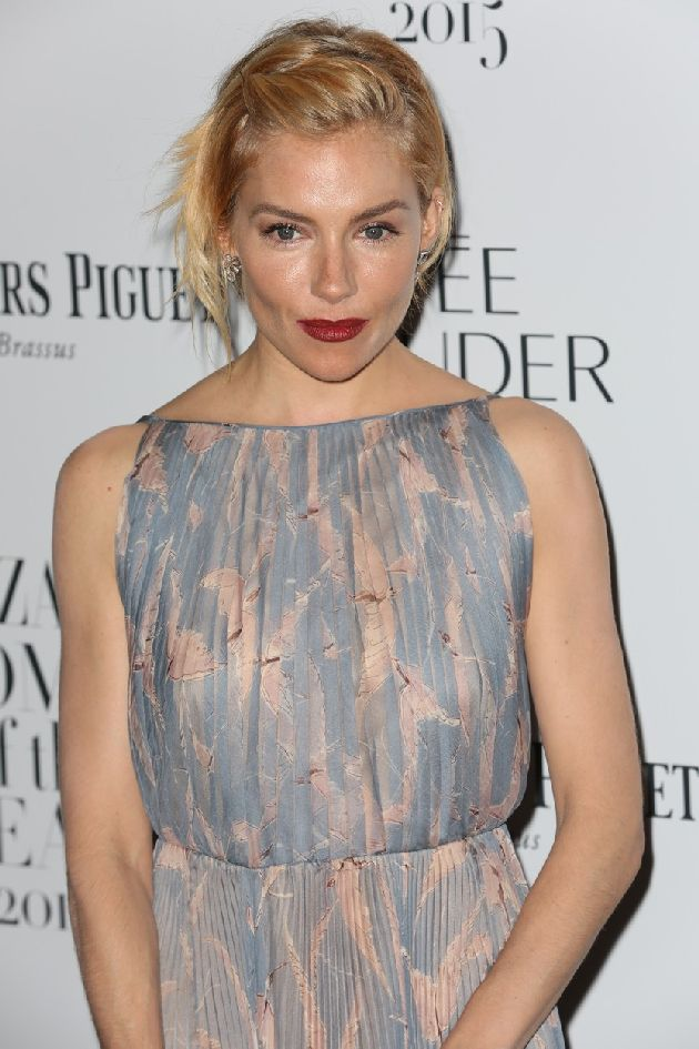 Picture Shows: Sienna Miller November 03, 2015 Celebrities arrive at the Harper's Bazaar Women of the Year Awards, held at Claridge's Hotel in London, UK. WORLDWIDE RIGHTS, Image: 264871321, License: Rights-managed, Restrictions: Non Exclusive No Digital Rights Without Permission Please Credit All Uses, Model Release: no, Credit line: Profimedia, FameFlynet UK