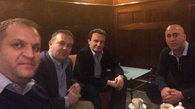 Ahmeti, Kurti e Selimi vizitojnë Ramush Haradinajn në Francë