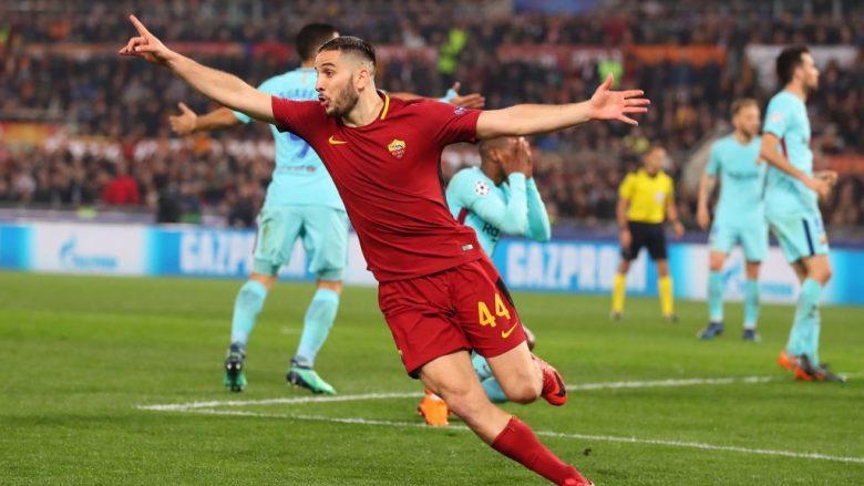 Roma provokon Barcelonën, duke iu drejtuar Real Madridit: Presim duartrokitje për Manolasin në Bernabeu