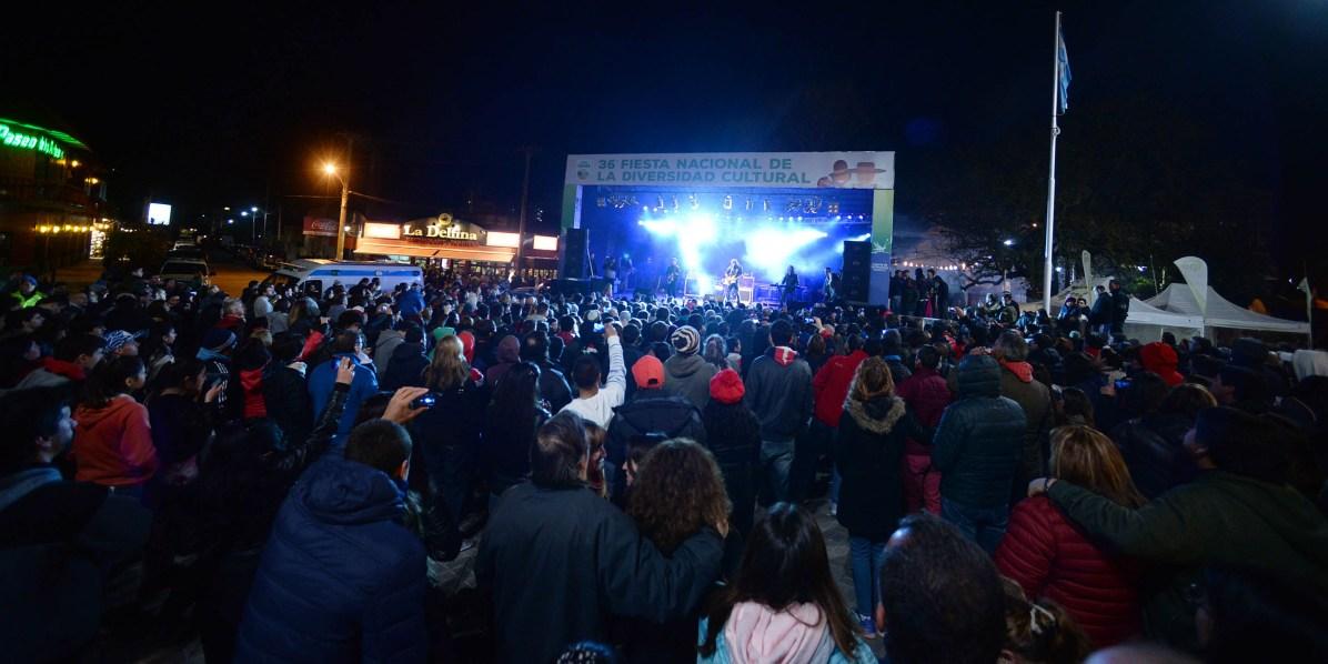 La Mancha de Rolando Fiesta de la Diversidad Cultural Villa Gesell 2016