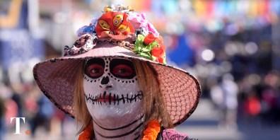 Grandes producciones en el desfile de la tradicional fiesta geselina (Fotos Ricardo Stinco).