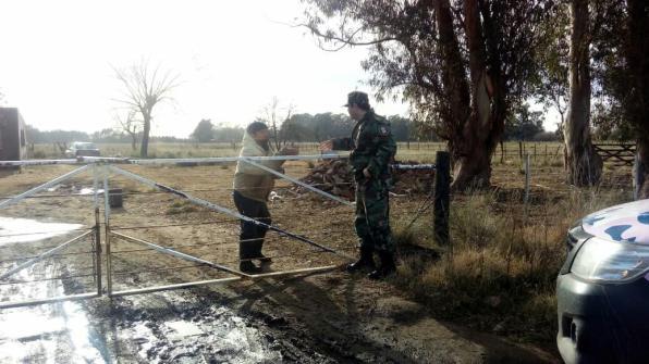 La Policía llevó el programa Conozca a su comisario hasta el ámbito rural