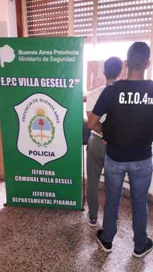 Uno de los detenidos en Villa Gesell por los robos en Cariló.