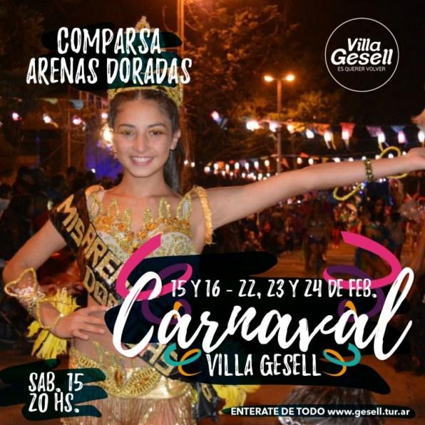 Carnaval Arenas Doradas
