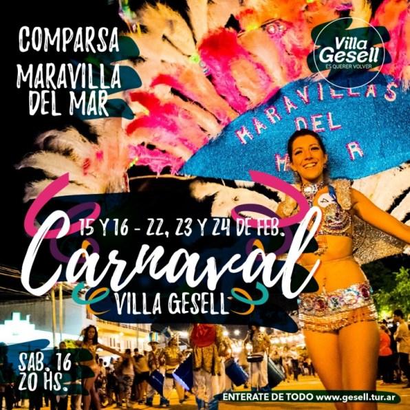 Carnaval Maravillas del Mar