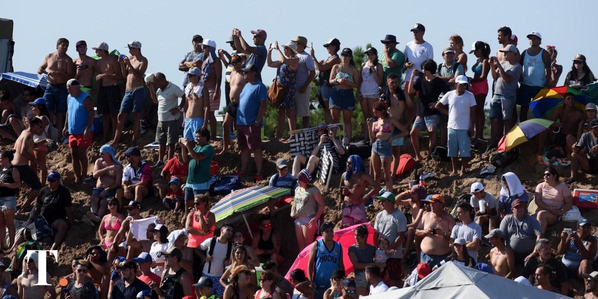 El Enduro del Verano, otro de los atractivos que cosechó gran cantidad de visitantes (Fotos Ricardo Stinco).