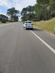 Ruta 11 incidente vial zona Carilo