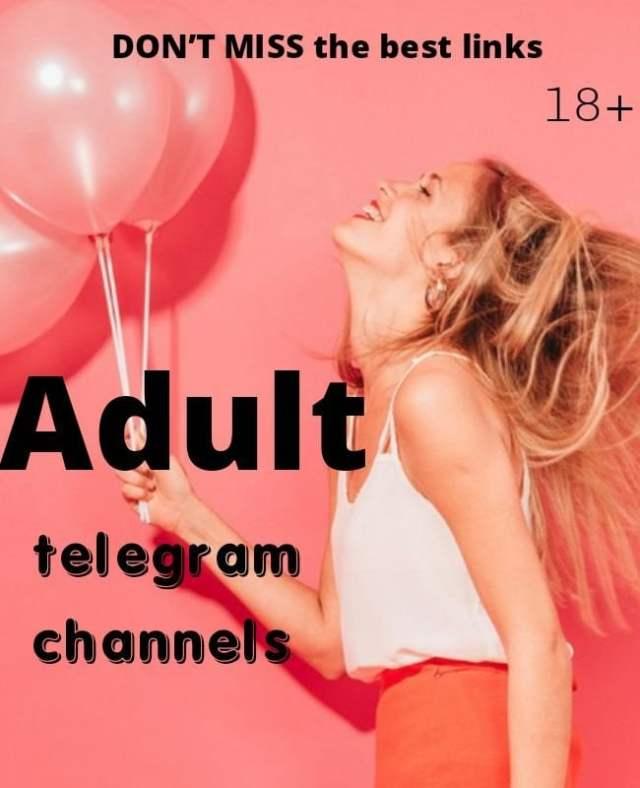 18+ adult telegram channels