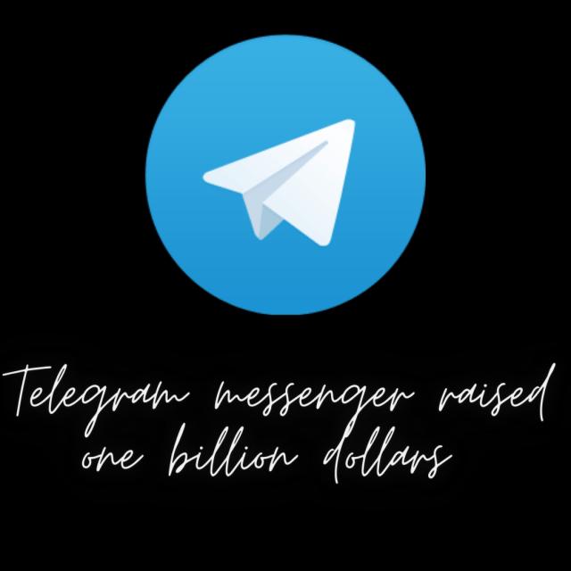 Telegram messenger raises one billion dollar