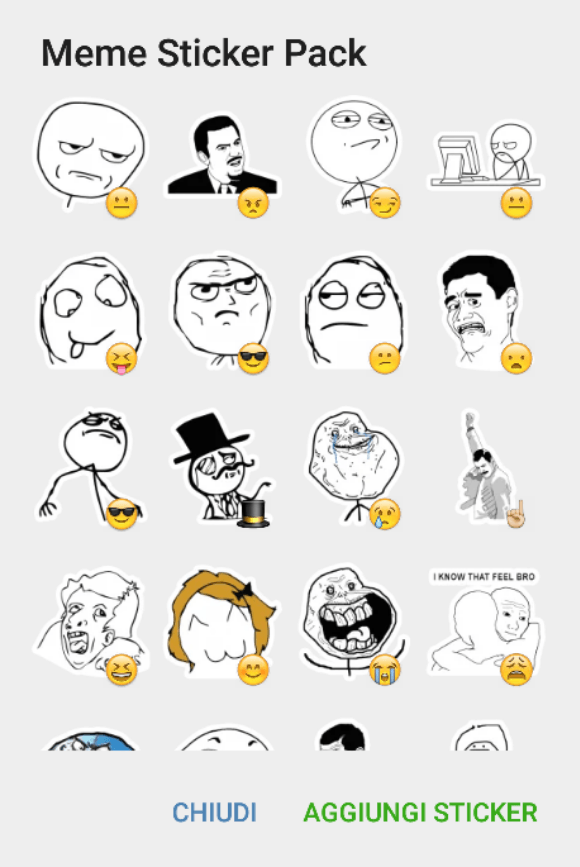 Rage meme sticker pack telegram stickers hub collection