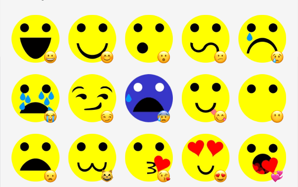 Emojos sticker pack