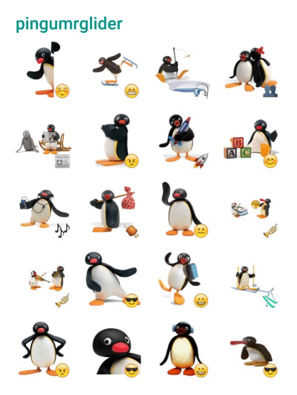 pingu-sticker-pack