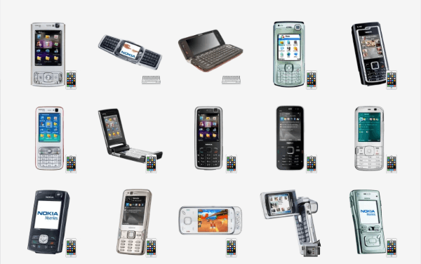 Nokia Phones Sticker Pack