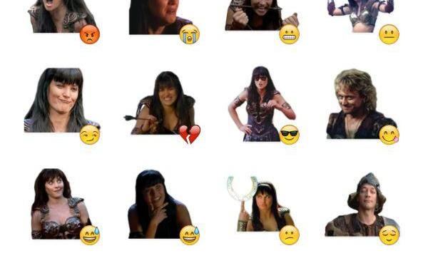Xena Sticker Pack
