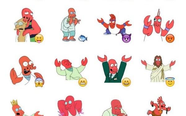 Zoidberg Sticker Pack