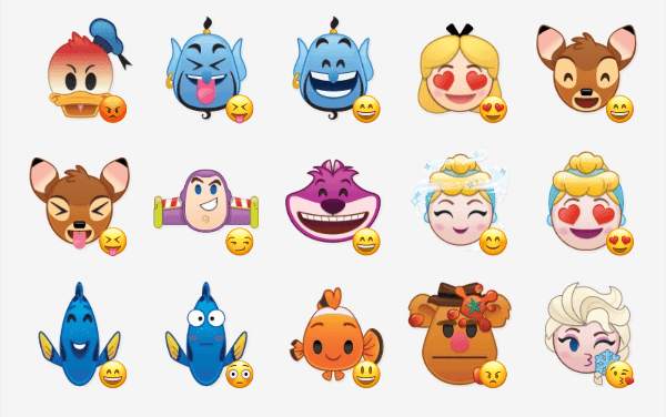 Disney Emoji Sticker Pack