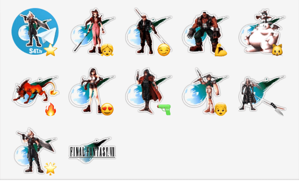 Final Fantasy Sticker Pack