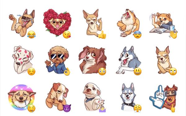 Moar Dog memes Sticker Pack