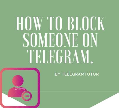 How To Block Someone On Telegram 7