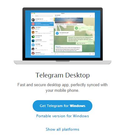 Use Telegram on PC 2
