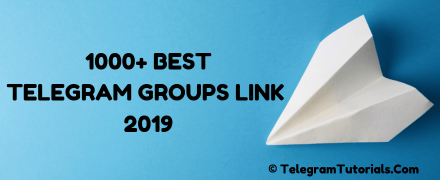 500+ Best Telegram Groups Link September 2020 - Telegram ...