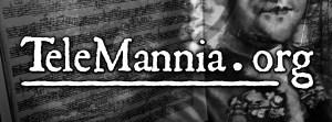 TeleMannia Logo Black & White