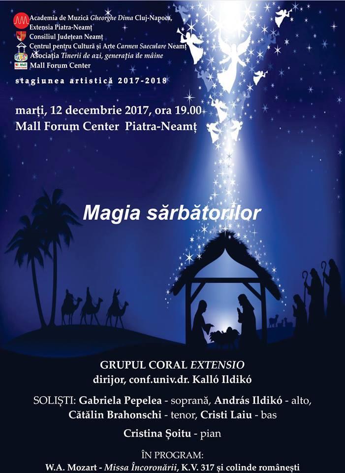 Magia sarbatorilor concert