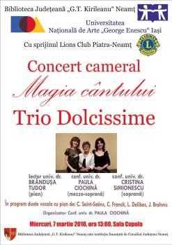 Afis Trio Dolcissime