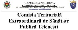 HOTĂRÂREA NR. 23 DIN 01.10.2021 A COMISIEI TERITORIALE EXTRAORDINARE DE SĂNĂTATE PUBLICĂ TELENEȘTI