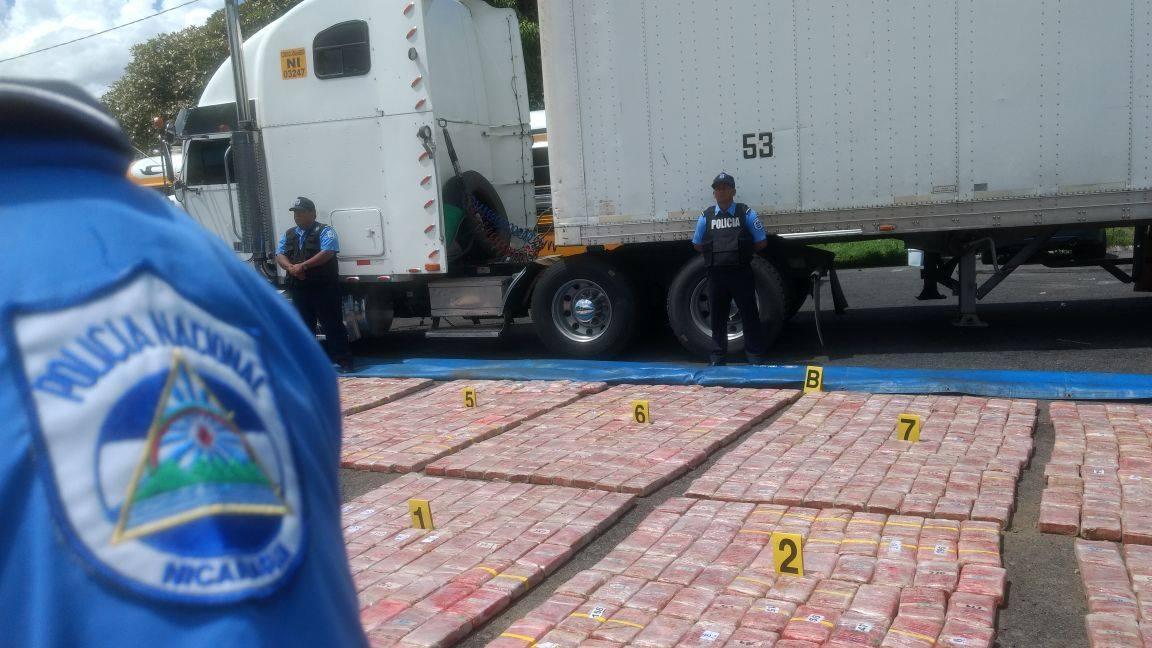 Incautan más de 900 kilos de cocaína en Nicaragua .