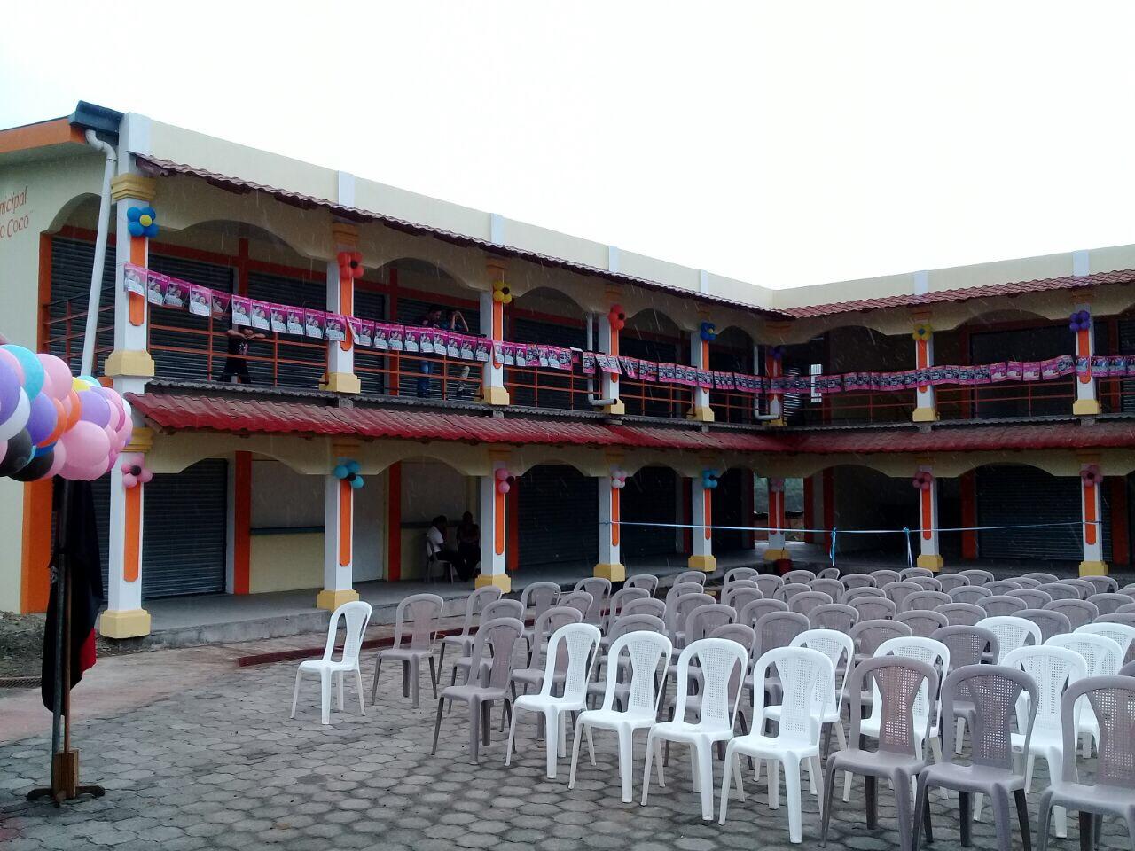 Inauguran mercado municipal en San Juan del Río Coco.