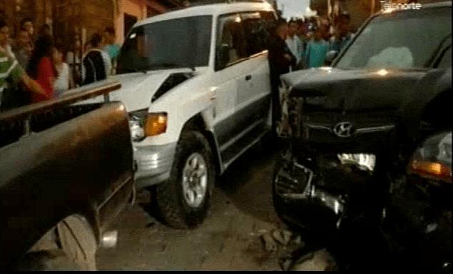 Joven fallece luego de quedar prensado entre dos vehículos en Estelí.