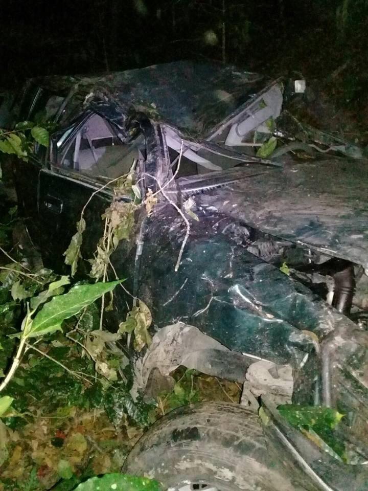 Accidente de tránsito deja dos fallecidos y varios heridos cerca de Quilalí.